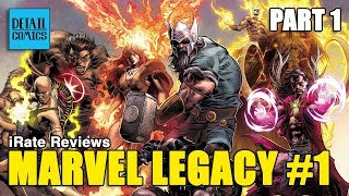 Marvel Legacy #1 (Part 1) - Avengers 1,000,000 BC || iRate Reviews