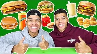 FASTFOOD PROBIEREN WELCHES UNSERE ZUSCHAUER LIEBEN !!! (KFC, MCS, BK)   Kelvin und Marvin