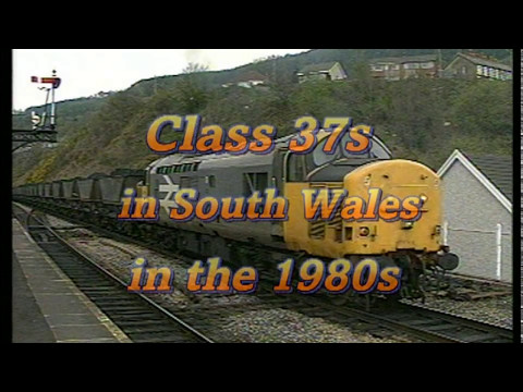 South Wales Freight Trains 1980's