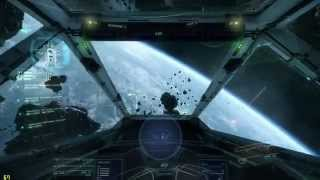 Star Citizen TITAN X FPS Test - Free Flight I Vanduul Swarm I Battle Royal