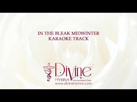 In The Bleak Midwinter Song Karaoke With Lyrics