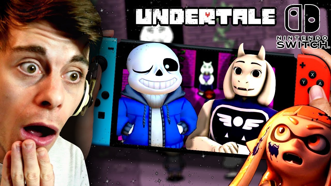 NEW UNDERTALE ON NINTENDO SWITCH!! | Undertale Nintendo Switch Edition (+  Smash 5)