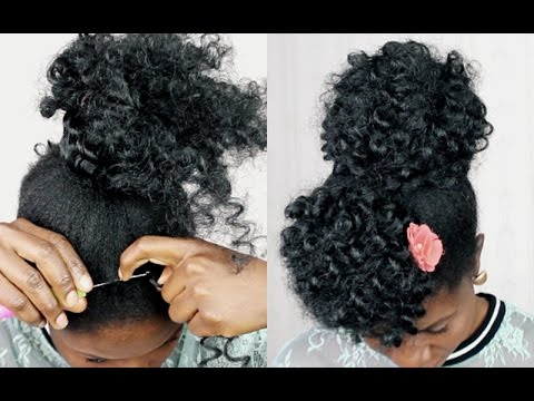 No Cornrows Braid Less Crochet Braids On Natural Hair