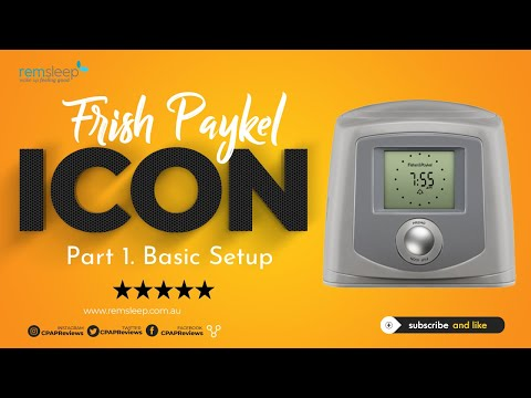 Fisher Paykel ICON Plus - Part 3 Of 3 - Advanced Settings Tutorial