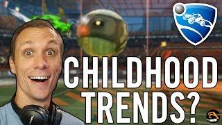 Childhood Trends? - Birdalert in RL, Rocket League Q&A (SHORT)