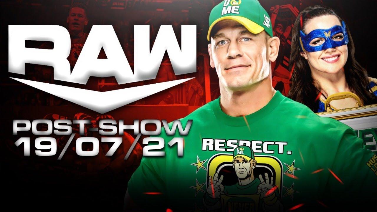 NIKKI A.S.H. NUEVA CAMPEONA FEMENIL DE RAW l 19 DE JULIO DE 2021 l WWE RAW POST- SHOW