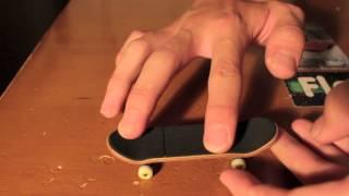 Skate de Dedo - Como mandar laser flip