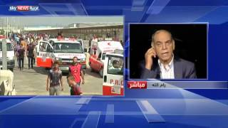 حماد يندد بالانتهاكات الإسرائيلية