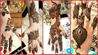 Beautiful Trending Eid Mehndi Designs Collection 2019 / Henna Patterns