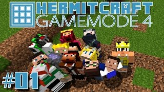 Minecraft Mods - GM4 Ep. 1 - Epic Start !!! ( HermitCraft Game Mode 4 )