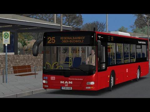 OMSI2]MAN A37 EEV - Ober-Buchholz Line25