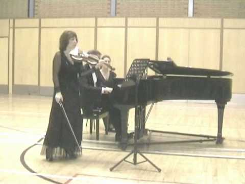 Strauss, Sonata for Violin and Piano - 3rd Mvt. Rimma Sushanskaya and Robert Markham