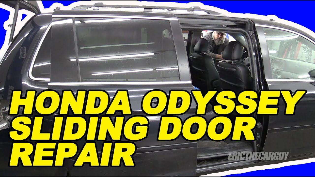 Honda Odyssey Sliding Door Repair The Easy Way Youtube