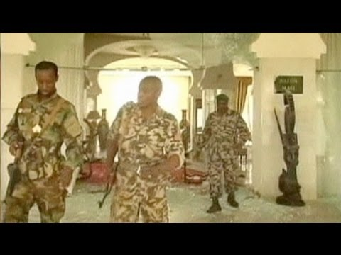 Military coup in Mali, President's palace looted