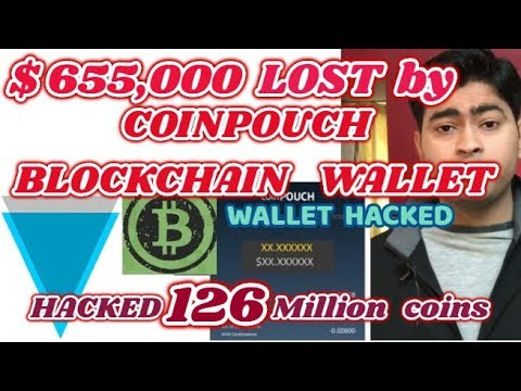 COINPOUCH BLOCKCHAIN WALLET HACKED | (XVG)VERGE Cryptocurrency