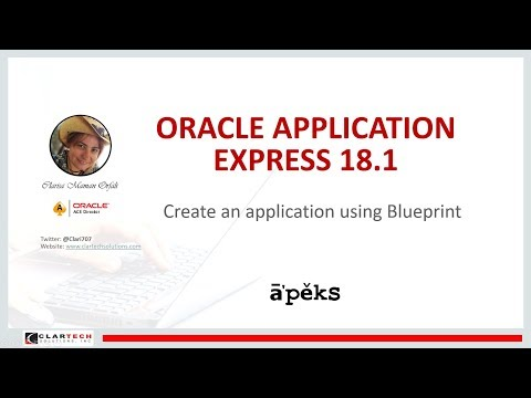 Video Tutorials: Oracle APEX 18 1