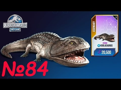 Jurassic World The Game на русском Dinosaur - Динозавр Гибрид Крутозавр! |