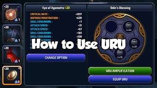 [Marvel Future Fight] How to Use URU