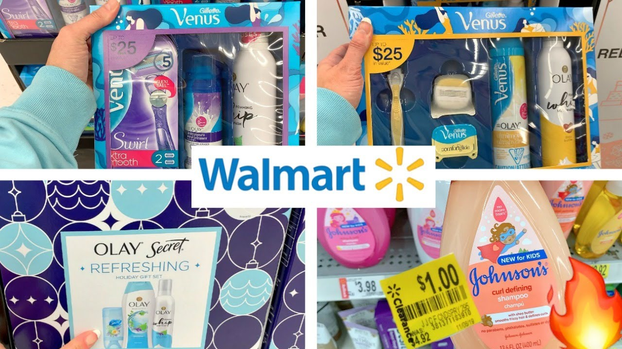 Walmart Shopping Christmas Gift Sets Under 10 Clearance Rollbacks On Baby Self Care Youtube