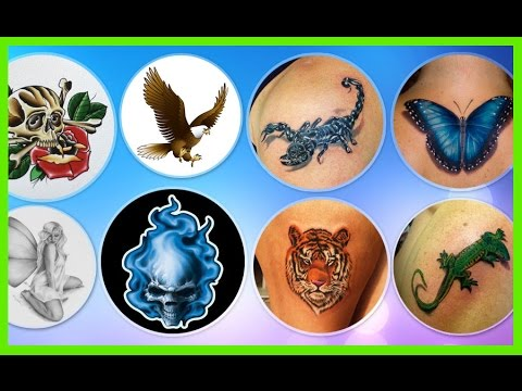 Top 100 Tattoos Designs For Men and Female 2017 HD | Cool Tattoos Ideas Womens & Girls