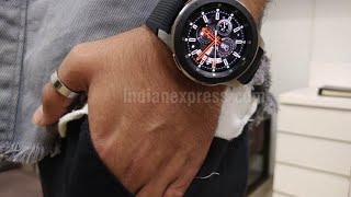Распаковка Samsung Galaxy watch 46mm аксессуары