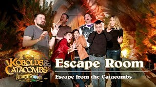 Hearthstone Escape Room - Escape from the Catacombs
