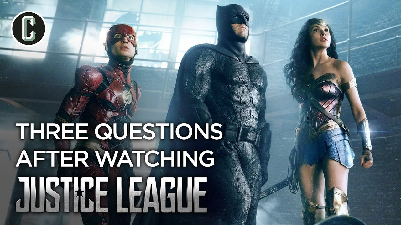 'Justice League': 5 burning questions from the film