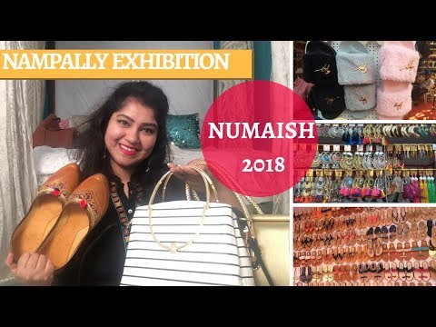 Numaish/Nampally Exhibition 2018 | Hyderabad Street Shopping | Priyanka Boppana