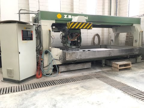 Used stone CNC machine FOR SALE Bavelloni Egar 102 - S cod. ZW248