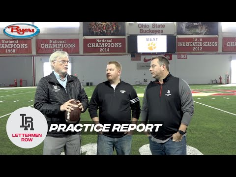 Practice Report: Wrapping up Ohio State signing day, pre-holiday practices
