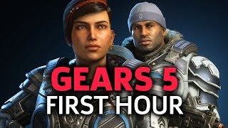 The First Hour of Gears 5   GameSpot Live