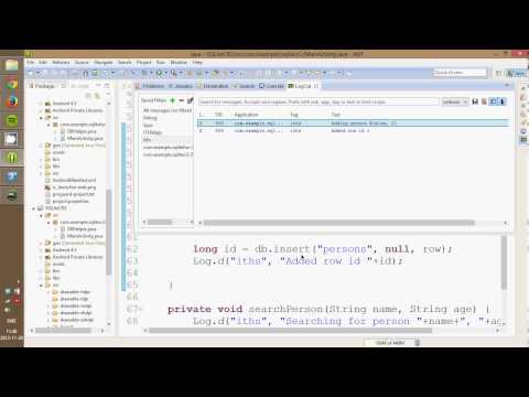 Android 10 - SQL, Create & Read