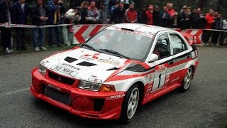Mitsubishi EVO X Race Car Debut Videos