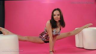 MyBodyFlexible - beautiful flexible contortion girl. Katya