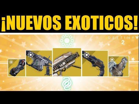 Destiny 2 - EXÓTICOS DE LA TEMPORADA 6! Gjallarhorn Tease! Thorn! Arbalesta & Exóticos Ocultos! thumbnail