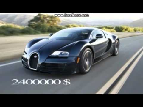 Top 5 Costliest Cars In The World With Their Prices
