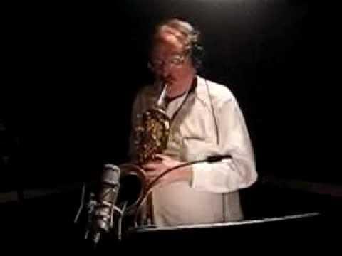 Tower of Power baritone player Stephen 'Doc' Kupka LA studio session