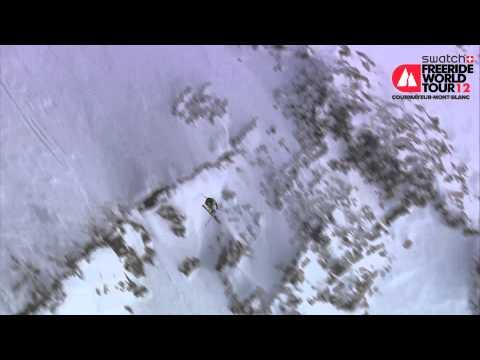 FWT12 Courmayeur-Mont-Blanc - 1st place Ski Men - Richard Amacker