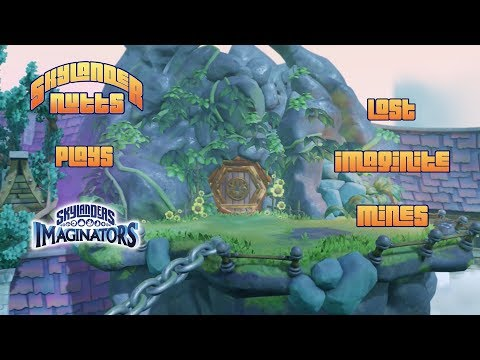 SkylanderNutts Plays Imaginators (Lost Imaginite Mines with Ro-Bow and Many More)