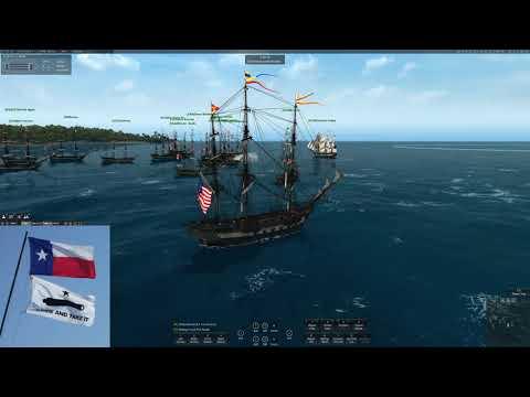 Naval Action Port Battle US vs UK Harbor Island