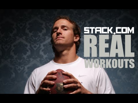 Real Workouts: Drew Brees