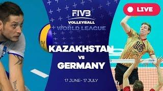 Kazakhstan v Germany - Group 3: 2016 FIVB Volleyball World League
