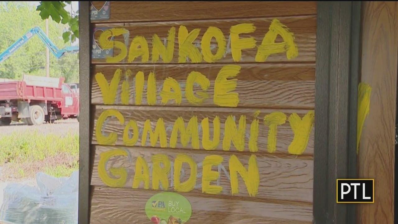Sankofa Village Garden Bringing Community Together