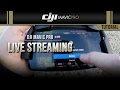 DJI Mavic Pro / Live Streaming (Tutorial)