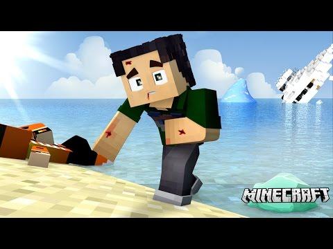MINECRAFT TITANIC #1 - O NAVIO AFUNDOU! E AGORA!