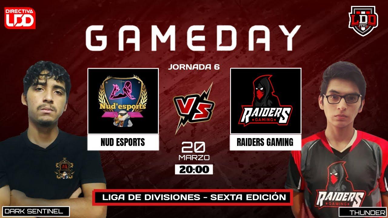 5ta Fecha LDD | Raiders Gaming vs Nud'eSports  | Scorpions vs Xpectros