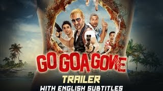 Go Goa Gone (Theatrical Trailer with English Subtitles) | Saif Ali Khan
