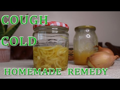 Honey Onion Cough Syrup | Flu and Cold | Homemade Remedy