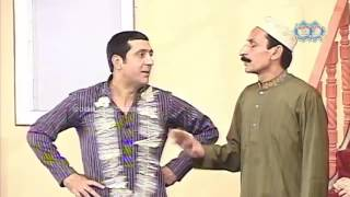 Zafri Khan and Iftikhar Thakur New Pakistani Stage Drama Full Comedy Clip