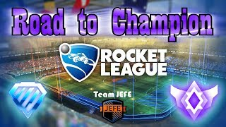 Road to Champion with my Team JEFE || Rocket League || [Ps4] [Live] [Ranked] #25